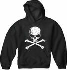 Skull Of Death Cross Bones Adult Hoodie