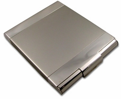 Sleek Two Tone Cigarette Case (For Regular Size Only)