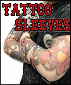 Sleeve Tattoo - Slip On Fake Tattoo Sleeves