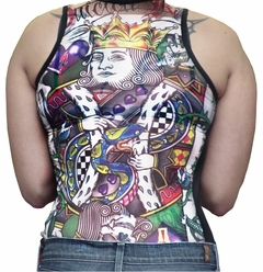 Sleeves Women's Tattoo Tank Top - Sleeves Dermagraphic Girls Tank Top