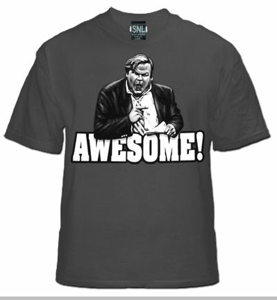 SNL Awesome Chris Farley  T-Shirt<!-- Click to Enlarge-->