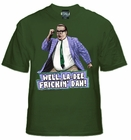 SNL LA-Dee Frickin Dah Chris Farely T-Shirt