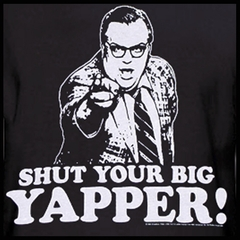 SNL Shut Your Big Yapper Chris Farely T-Shirt
