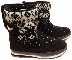 Snow Joggers - Original Rubber Duck Snowjoggers (Brown Knit Snowflake)