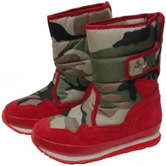 Snow Joggers - Original Rubber Duck Snowjoggers (Red Camouflage)