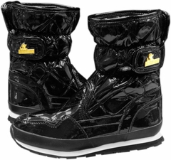 Snowjoggers - Original Rubberduck Snowjoggers (Sporty Quilted Shiny Black)