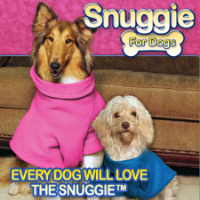 Snuggie For Dogs - The Only Blanket with Sleeves For Dogs!