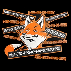 So Many Fox Sayings - What DoesThe Fox Say? Men's T-Shirt