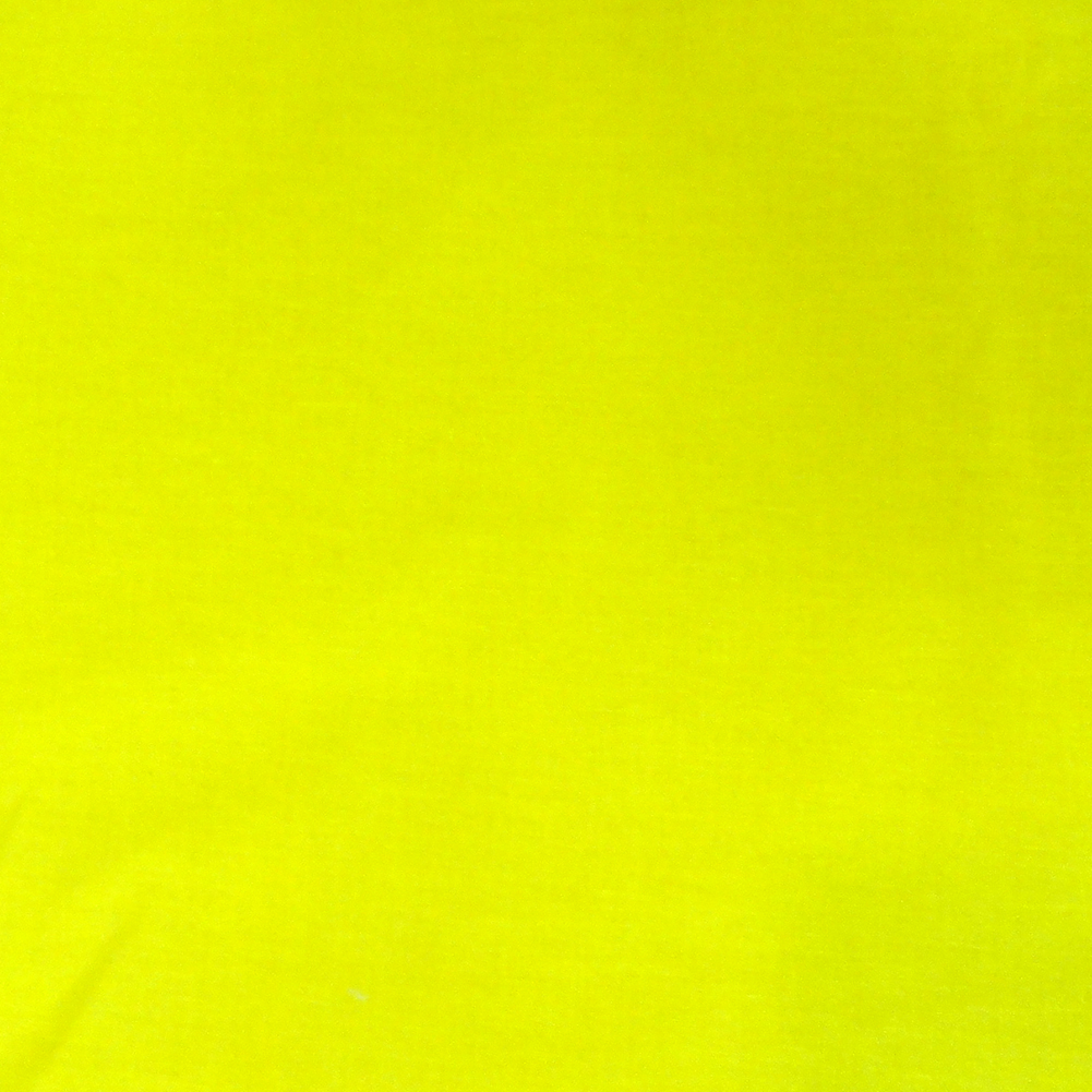 Solid Color Neon Yellow Blacklight Reactive Bandana