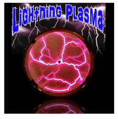 Sound & Touch Reactive Plasma Lightning Raver Shield
