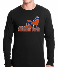 Southern Style Thermal Shirt