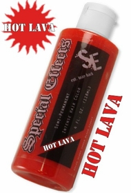 Special Effects Hair Dye - Hot Lava