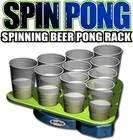 Spin Pong ::  Rotating Beer Pong Rack
