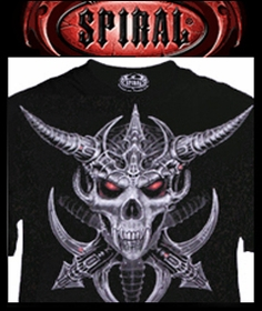 Spiral Dark Clothing :: Buy Spiral T-Shirts Direct