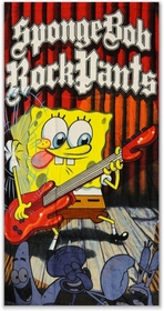 "Sponge Bob Square Pants ""Rock On"" Beach Towel"