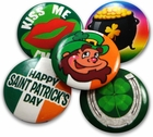 St.Patrick's Day Irish Button Bulk Pack (50 Pack)