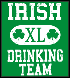 St. Patrick's Day Irish Drinking Team Men's T-Shirt