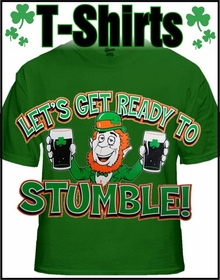 St. Patrick's Day T-Shirts & Hoodies for Men & Women