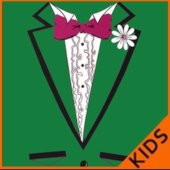 St. Patrick's Day Tuxedo T-Shirt For Kids