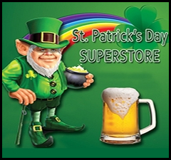 St Patricks Day Store - St. Patricks Day Irish T-Shirts and Novelties