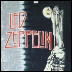Led Zeppelin Tshirt - Stairway To Heaven Tie Dye T-Shirt