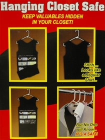 Stash Shirt - Hanging Closet Diversion Safe