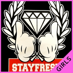 Stay Fresh Girl's T-Shirt