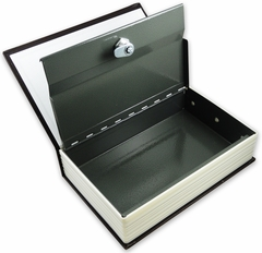 Stealth  Diversion Dictionary with Key Lock Safe