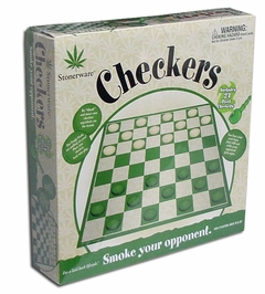 Stonerware Checkers Set