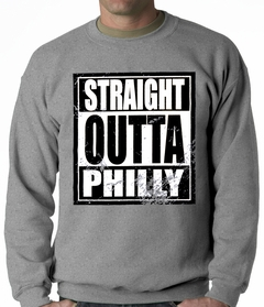 Straight Outta Philly Adult Crewneck