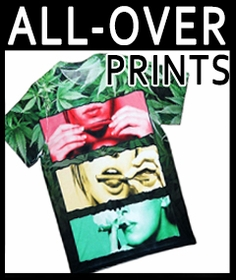 Sublimation All-Over Print T-shirts