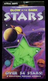 Super Bright Glow In The Dark Stars (Box Of 54)
