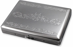 Super Chrome Serpentine Cigarette Case (For Regular Size & 100's)