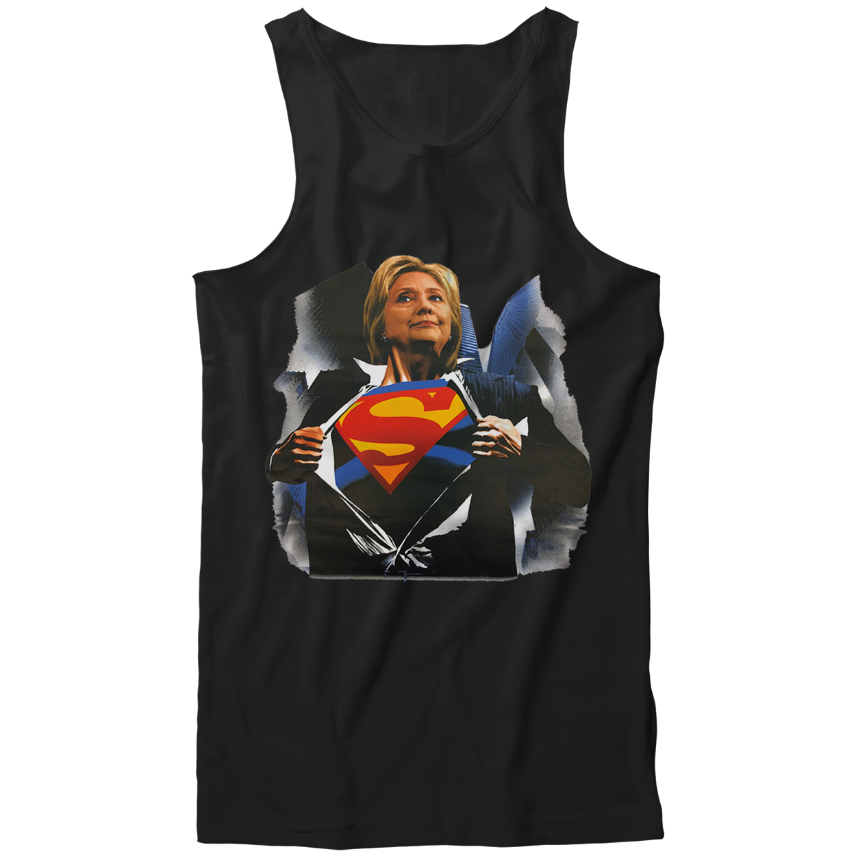 Super Hillary Election 2016 Tank Top