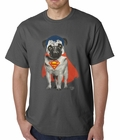 Super Pug - Superman Official Mens T-shirt