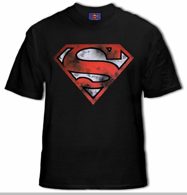 Superman Is Dead War Torn Logo T-Shirt<!-- Click to Enlarge-->