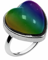 Sweet Heart Shaped Mood Ring