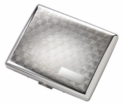 Swirl Polished Cigarette Case (For Regular Size & 100's)