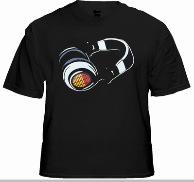 T-Phones EQ Equalizer Sound Reactive T-Shirt<!-- Click to Enlarge-->