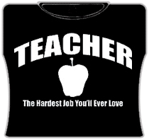 Teacher The Hardest Job Girls T-Shirt