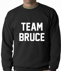 Team Bruce Adult Crewneck