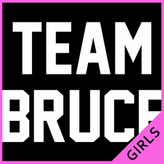 Team Bruce Ladies T-shirt