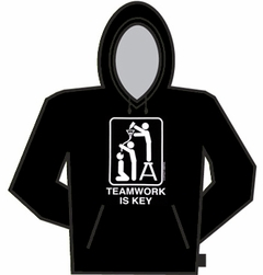 Teamwork Is Key Hoodie