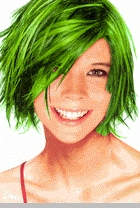 Temporary Spray In Hair Color (Green)<!-- Click to Enlarge-->