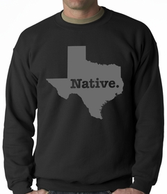 Texas Native Adult Crewneck