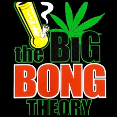 The Big Bong Theory Men's T-Shirt