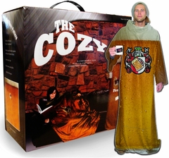 The Cozy Blanket With Sleeves (Pint of Beer)