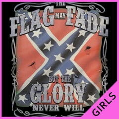The Flag May Fade Girls T-shirt