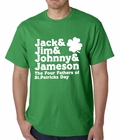 The Four Fathers of St. Patrick's Day Mens T-shirt