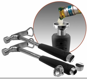 The Hammer Flask Amazing All in One Hammer, Bottle Opener, Ice Crusher & Flask<!-- Click to Enlarge-->